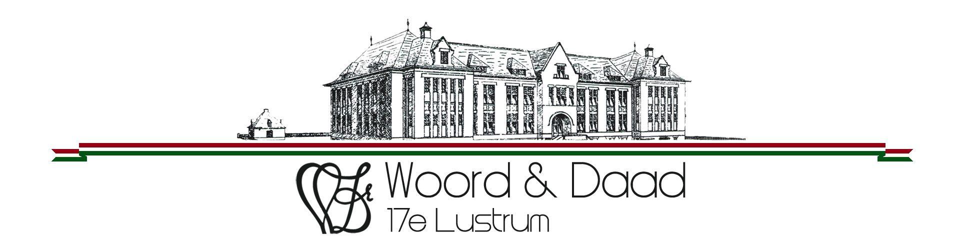 Lustrumstichting Woord & Daad wenst jullie allemaal een geweldig Lustrumjaar toe!